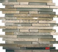 sample beige green natural stone glass mosaic tile kitchen