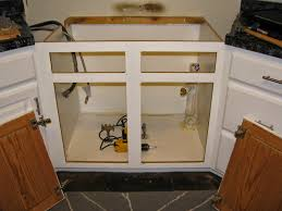 kitchen sink cabinet with dishwasher my so called diy resize your existing cabinet and