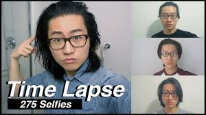 men growing hair out stages growing my hair for 9 months time lapse 275 selfies everyday
