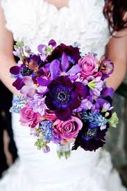 purple and blue wedding 30 purple blue wedding bouquets purple blue weddings