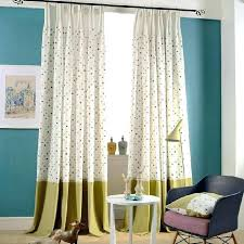 Green Striped Curtains Green And White Curtains White And Green Leaf Sheer