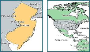 usa map states new where is new jersey state where is new jersey located in the