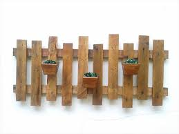 rustic pallet wall hanging planter 101 pallet ideas