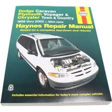 haynes repair manual new town and country dodge grand caravan