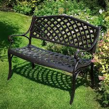 steel outdoor bench outdoorlivingdecor