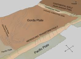 physical map of oregon juan de fuca plate living with earthquakes in the pacific northwest