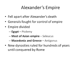 macedonia alexander the great and the hellenistic world ppt