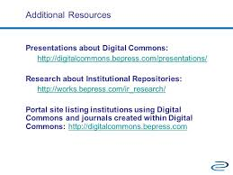 digital commons a suite of services tim tamminga ppt download