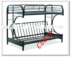 Metal Futon Bunk Bed Black Metal Futon Bunk Bed Assembly Bm Furnititure