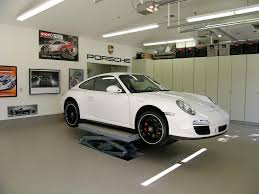 porsche garage cool garage decorating ideas pictures