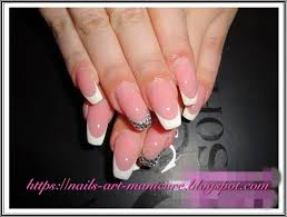 nails art manicure top 12 french nails art manicure for long and