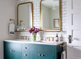Painting Bathroom Vanity Painted Bathroom Vanity Cabinet With Wicker Baskets Painting