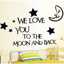 room decal stickers diy removable adesivo parede stars moon room decal stickers diy removable adesivo parede stars moon letter home decoration wall sticke art decals mural wallpaper
