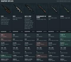 pubg damage chart stats for the new mk14 sniper revealed 60 damage 853 m s