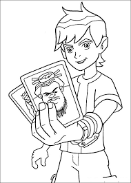 print ben 10 coloring pages free printable coloring book