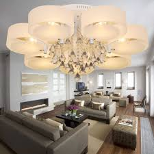 modern dining room chandeliers drum chandelier with drop crystals