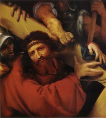 christ carrying the cross 1526 lorenzo lotto wikiart org
