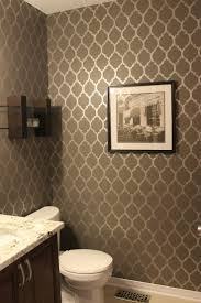 Powder Room Decorating Ideas Contemporary Powder Room Feature Wall Google Search Showeroom Pinterest