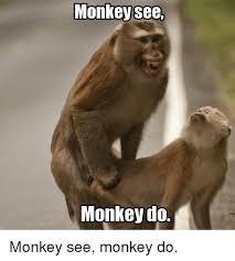 Monkey Meme - monkey see monkey do monkey see monkey do monkey meme on me me
