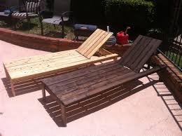 Wooden Outdoor Lounge Chairs Patio Lounge Chair Diy Video And Photos Madlonsbigbear Com