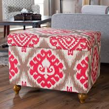 Ikat Storage Ottoman Cheap Storage Ottoman Find Storage Ottoman Deals On Line