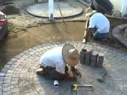 Paver Patio Kits Pavers Circle Kits Add Interest To Backyard Patios