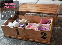 How To Build A Wood Toy Box by Ana White 20 Sec Tidy Up Coffee Table Diy Projects