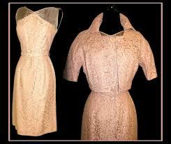 vintage 1950s 50s dress matching bolero jacket pink illusi u2026 flickr
