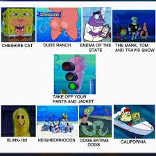 Blink 182 Meme - blink 182 albums spongebob comparison charts know your meme