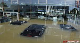 jaguar dealership floods in bayern destroy jaguar landrover dealership in deggendorf