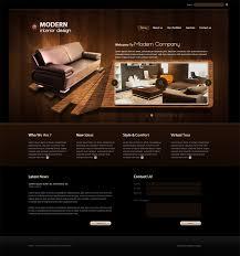 modern interior design web template by egyweza on deviantart