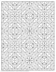 102 geometric patterns coloring pages images