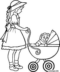 coloriage voiture bebe dessin
