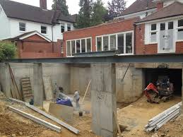 basement swimming pool and gym construction