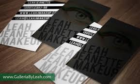 business cards for make up artist u2013 portfolio