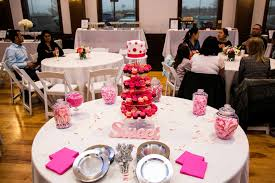 everything pink baby shower the falls event center