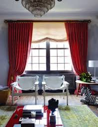 red curtains for large living room windows homedcin com