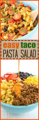 taco pasta salad the perfect taco flavored side dish for any