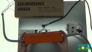 emergency lighting backup battery for led panel lights to provide