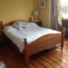 Solid Pine Bed Frame High Quality Solid Pine Wooden Bed Frame In South Brent
