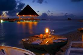 night beach dinner ocean romance sunset beach romantic dinner view