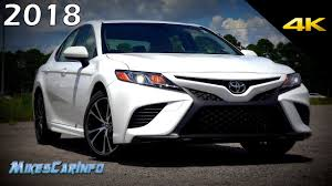 2018 toyota camry se ultimate in depth look in 4k youtube