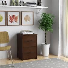 Vertical Wood Filing Cabinet by Dorel 2 Drawer Resort Cherry File Cabinet