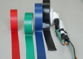 red green blue black wire harness tape for ventilation and