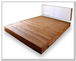 stylish platform bed no headboard bed frame without headboard