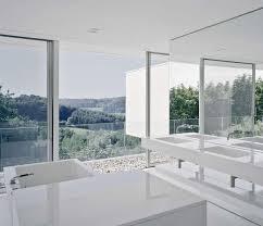 Open Bathroom Design Multifarious Modern Cubic House Architecture Home Improvement