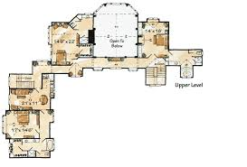 mountain lodge floor plans luxurious mountain lodge 11570kn architectural designs house plans