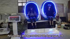 cheap price egg pod chair 9d vr cinema simulator shooting game 2
