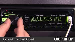 kenwood kdc 258u display and controls demo crutchfield video