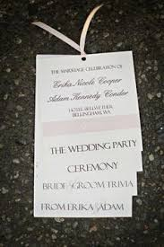 Programs For Weddings Ten Best Diy Programs For Weddings Something Borrowed Wedding